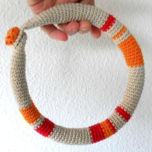collar crochet tribal