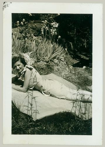 Woman on Blanket