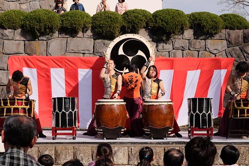 "Japanese drum team ""SAI"" 04"