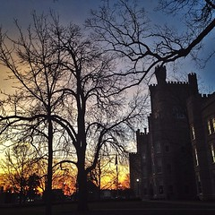 #latergram but beautiful morning view @eiu
