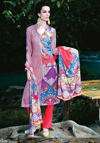 Five Star Textile Lawn Dresses 2014 Volume 3