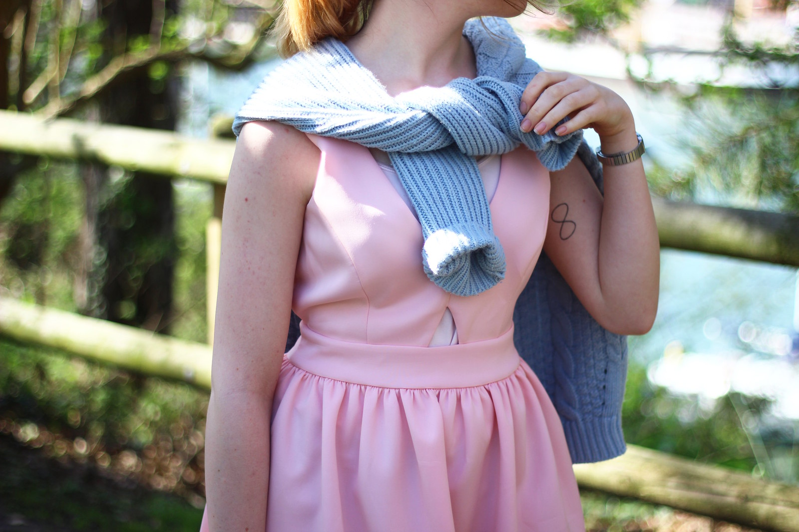 5pasteloutfit, pastel, asos, pink, blue, spring, summer, 2014, trend, fashion, style, retro, cat-eye sunglasses, knitwear, 50's, vintage, inspired, high street, personal style, stylepeaches, blog, outfit, look