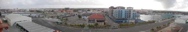 Oranjestad from Coral Princess