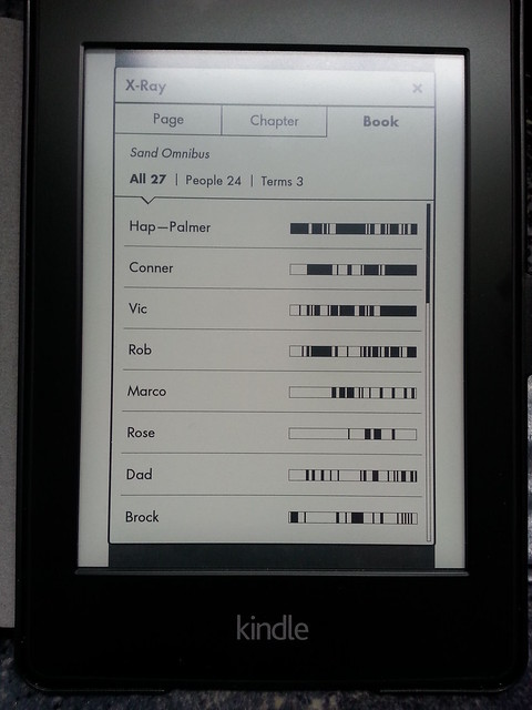 Kindle Paperwhite X-Ray