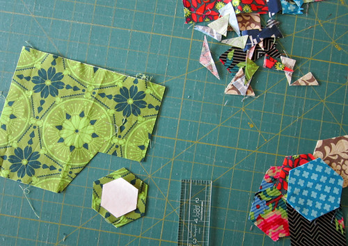 to sew... hexagons!