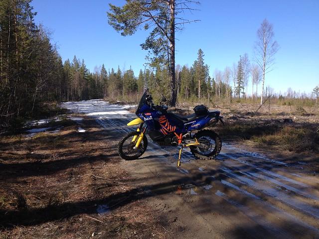 Still some snow left