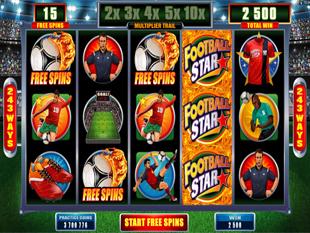 Football Star Bonus Free Spins