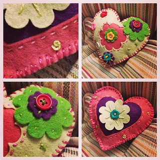 A little bit of felt #sewing #stitching #craft happiness