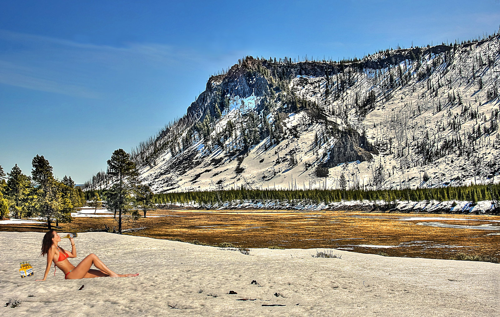 Fly fishing in yellowstone national park el d a de la for Fishing in yellowstone