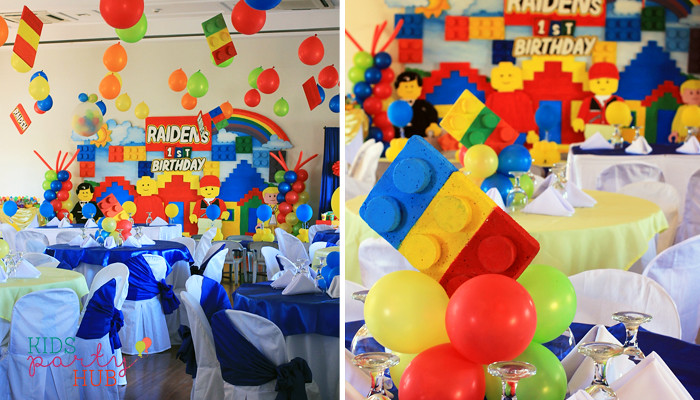 Lego Themed Party Decoration Ideas