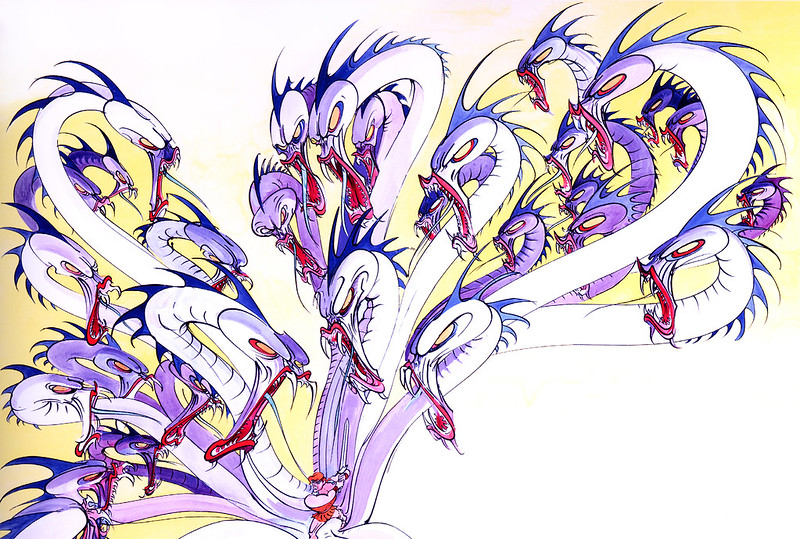 Gerald Scarfe - Hercules Conceptual Paintings 04