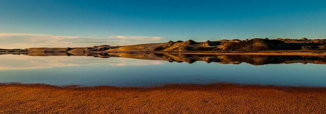 Sunrise on a Salt Marsh