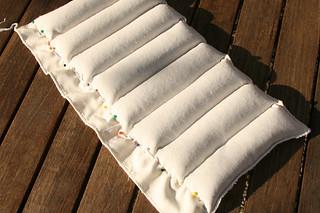 Tuto couture - bouillotte dorsale graines de lin - Etape 11