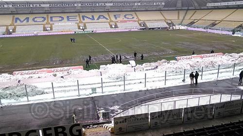 Modena-Catania gara rinviata$