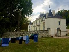 La Taupanne from the gardens - Photo of Leigné-sur-Usseau