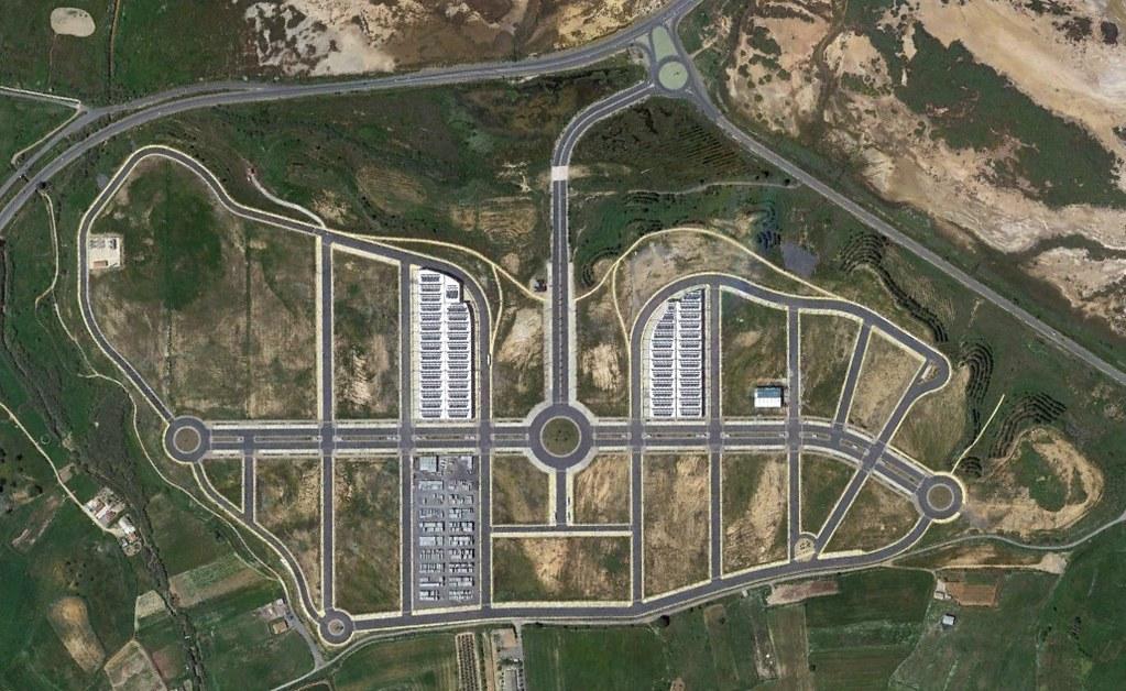 moguer, huelva, mon..., después, urbanismo, planeamiento, urbano, desastre, urbanístico, construcción, rotondas, carretera