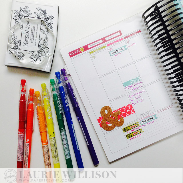 Moments Inked-Papertrey Ink Planner