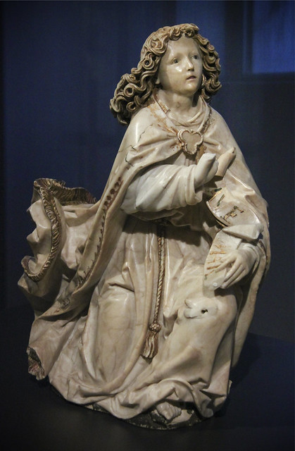 The Annunciation, c.1485-87, Tilman Riemenschneider