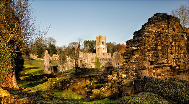 Fountains Abbey Part of the National Trust