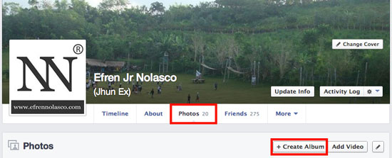 How to Upload Photos or Pictures on Facebook using PC or Mac 1