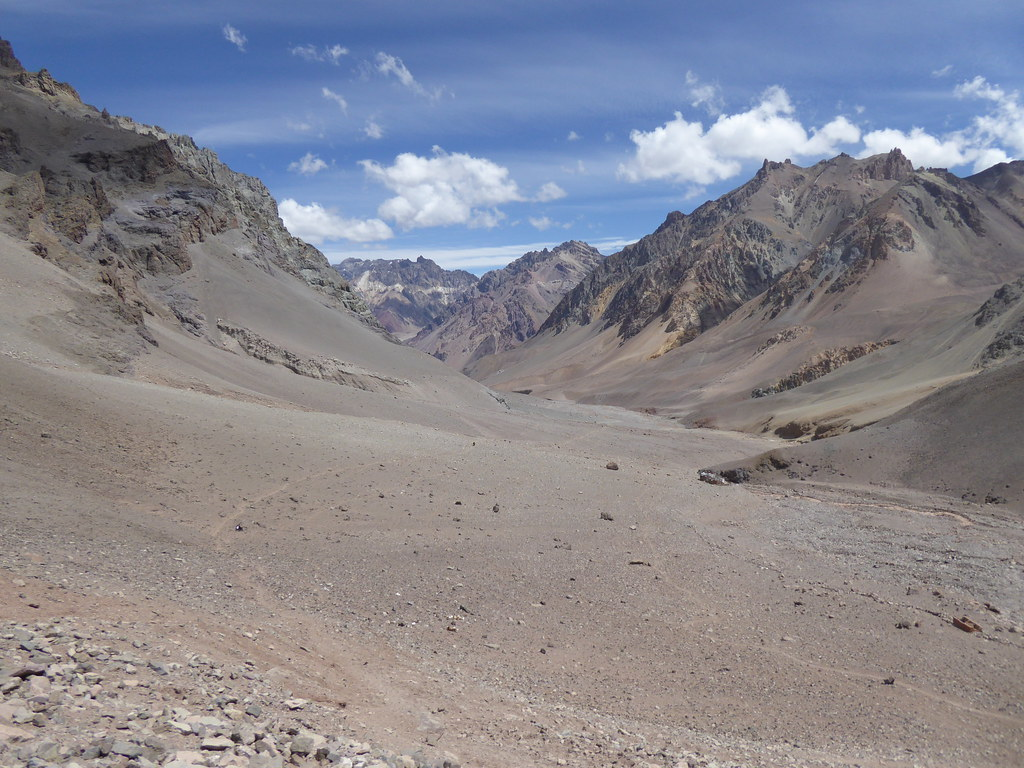 Upper Horcones Valley, Aconcagua