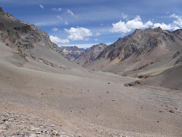 Upper Horcones Valley, Aconcagua