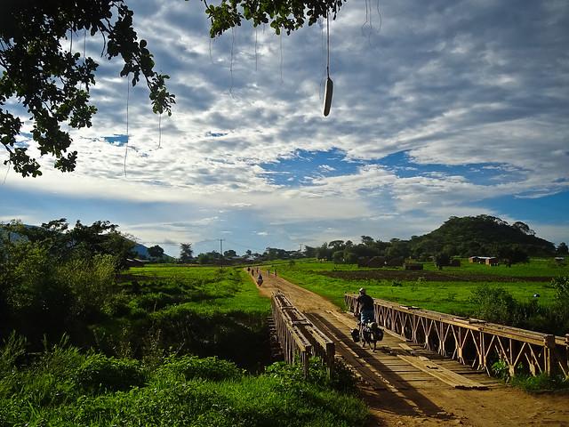 Old bridge south from Tunduma