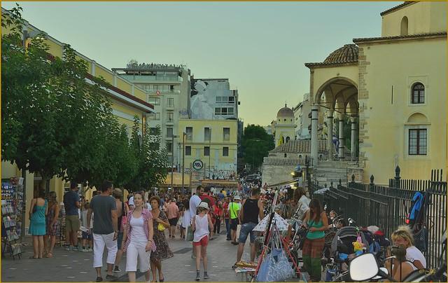 Απόγευμα στο Μοναστηράκι (Αθήνα)