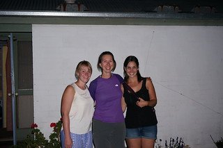 Lena, Caroline, and Rebecca