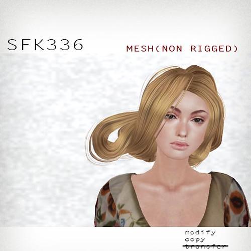 booN SFK336 hair