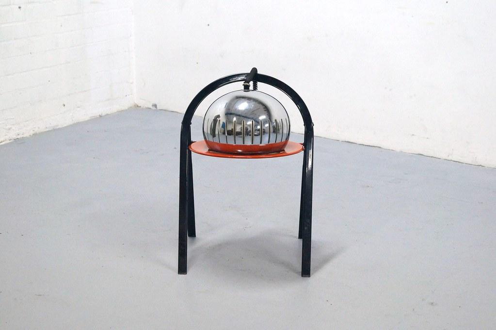 Lamp In Kast : Vintage hanglamp chroom sixties lamp jaren raak retro design
