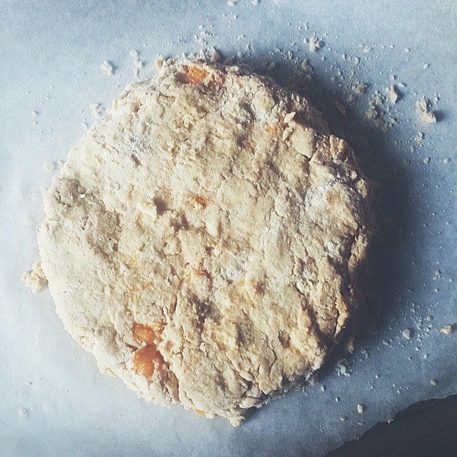 Brunch, in the making - #Pawpaw and #lime #scones  Thank you @sconeladylarkin for the 'How to make scones' tutorial.  The dough tastes amazing :-) #kitchenbutterfly #newnigeriankitchen #Nigeriancuisine #Nigerianrecipes #Nigerianfood #naijafood #vscocam #v