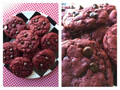 Mrs. Fields Secrets Red Velvet Chocolate Chip Cookies