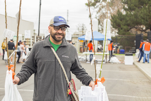 Huntington Park Fruit Tree Festival - 1/11/15