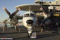 161227 602 - A-67 - US Navy - Grumman E-2C Hawkeye - USS Midway Museum, San Diego, California - 141223 - Steven Gray - IMG_6778