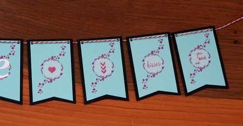 Valentine's Love Mini Banner | shirley shirley bo birley Blog