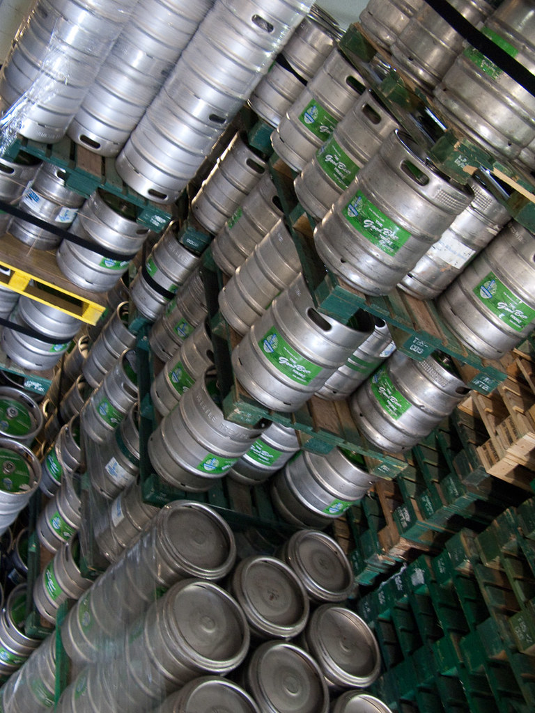 So many kegs of beer!