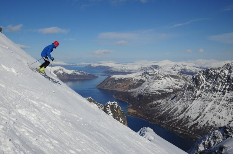 Norské Lyngenské Alpy - deník skialpinisty III.