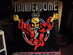 ID&T THUNDERDOME Thunder Wizzard LEGO WIP (Day 2)