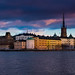 Stockholm old town by R. Welch