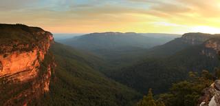 Princes Rock Lookout Panorama