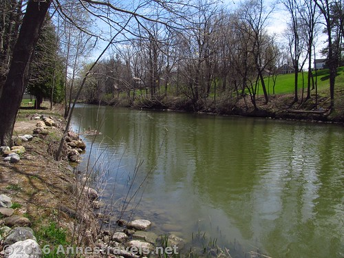 The Expanded Erie Canal at Macedon Canal Park, New York