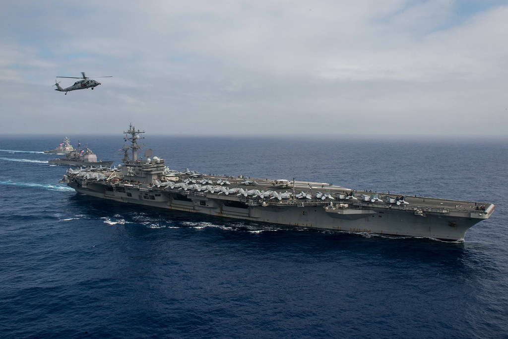 Carrier Strike Group 5 conducts South China Sea patrol