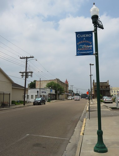 texas tx easttexas cuero downtowns dewittcounty