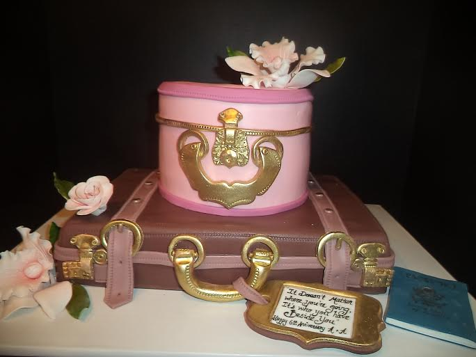 Beautiful Cake by Lillian Chng of Decorated Confections