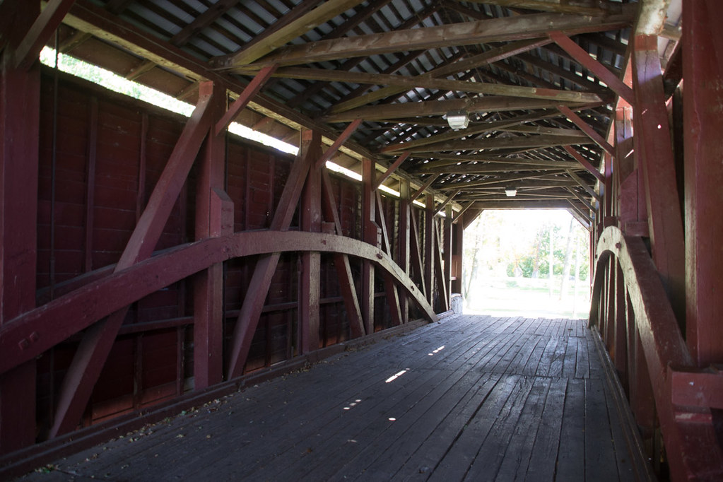 Covered bridges in Lancaster County