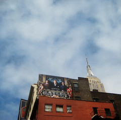 The Great Gatsby Film Billboard Poster Near Empire State Building 9477