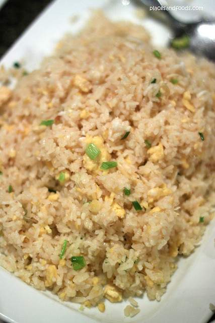 supatra fried rice with crab meat