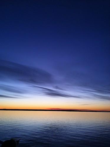 sunset sea sky colour norway norge fjord bergen vestlandet