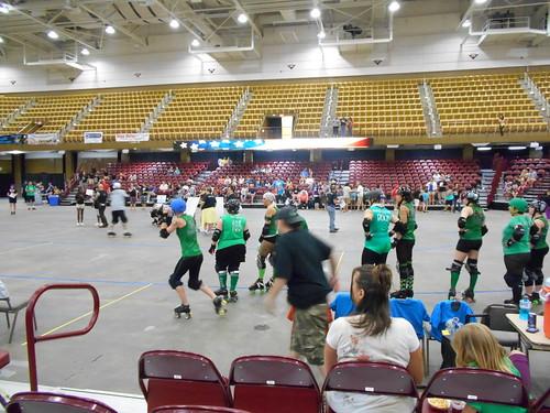 Asheville roller derby